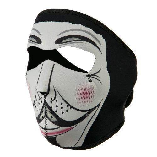 Neoprene Full Face Mask - Vendetta - Hat Neoprene