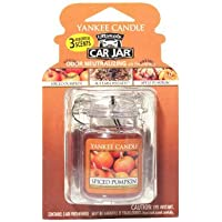 Yankee Candle Fall Favorites 3-packs Car Jar Ultimate (Apple Pumpkin, Autumn Wreath, Spiced Pumpkin)