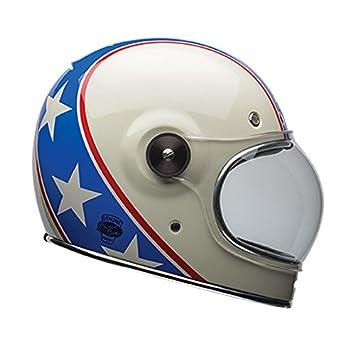 Bell Casco Moto, Azul/Blanco, talla M