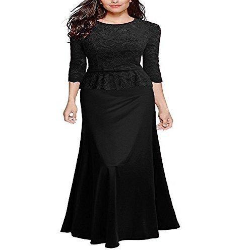 vestidos de con Cena dama Señoras vestido M noche SZpnwnIx7