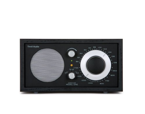 Tivoli AudioModel One AM / FM Table Radio, Black / Silver