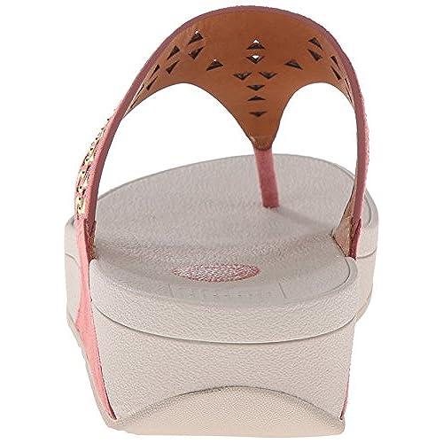 d37719452 outlet FitFlop Women s Carmel Toe-Post Suede Dress Sandal ...