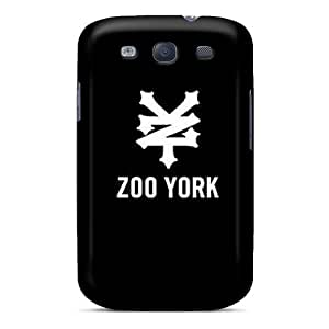New Style MQMshop Hard Case Cover For Galaxy S3- Zoo York