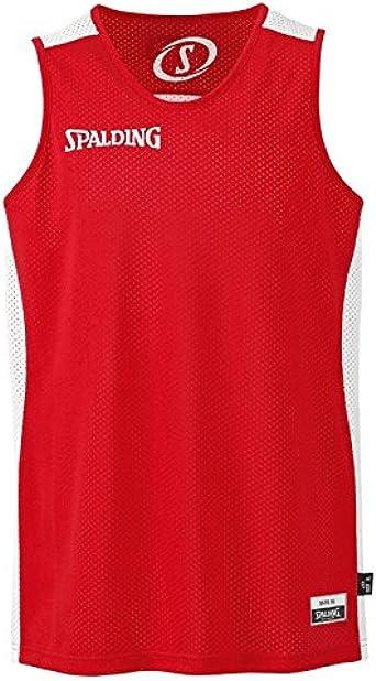 Spalding Essential - Camiseta de Baloncesto para Hombre: Amazon.es: Ropa y accesorios