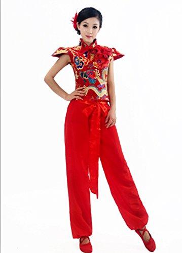 [Chinese Folk Dance Costume Traditional Fashion Clothing Chinese Dynasties] (Chinese Dynasty Costume)