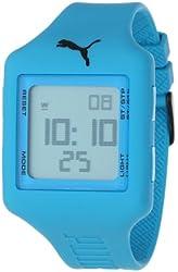 PUMA Unisex PU910791004 Slide-Large Deep Blue Digital Watch