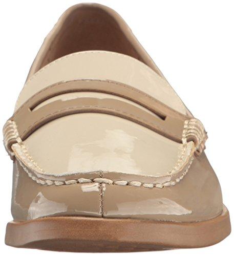 Aerosoler Kvinna Huvudrätt Öre Loafer Tan Patentet
