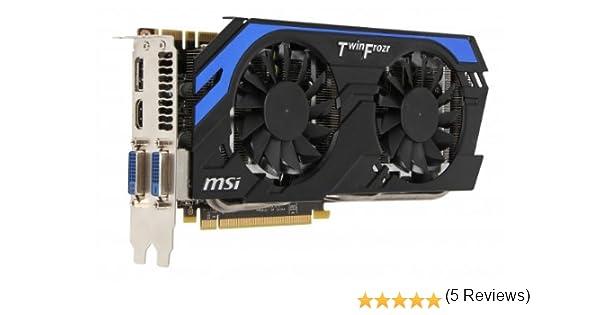 Msi N660Ti-Pe2D2Gd5/Oc - Tarjeta gráfica, GeForce GTX 660Ti ...