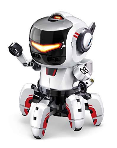 Elenco Teach Tech Tobbie II |BBC Micro:bit Robot Kit | STEM Educational Toys for Kids 10+