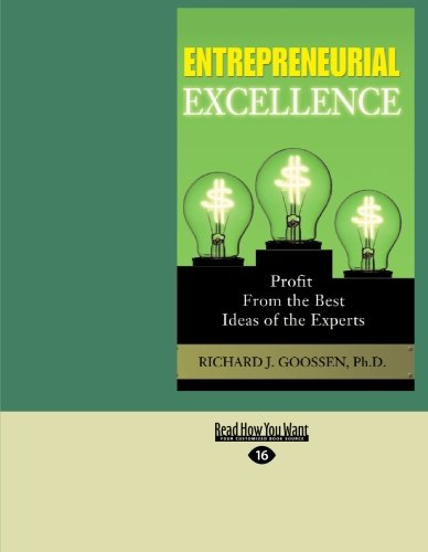 Entrepreneurial Excellence