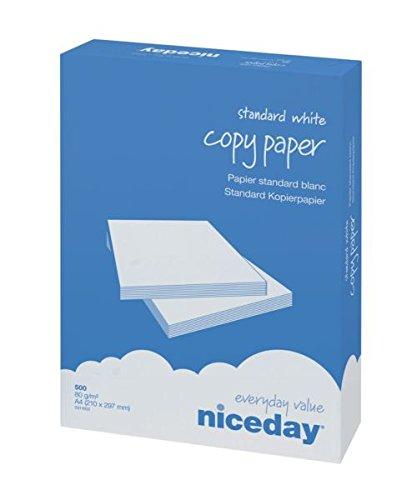 Niceday risma da 500 fogli A4, 80 g/m², carta bianca 5311602