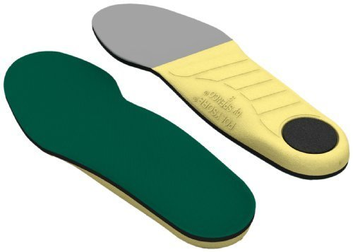 - The Spenco(r) Polysorb(r) Cross Trainer helps turn any athletic shoe into a cross training shoe. Use them for a variety activities such as aerobics, court sports, running, weight training, racquet sports and walking. Cushioning in the forefoot and heel strike zone areas provide great performance.