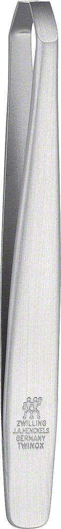 Zwilling 78148-101-0 Twinox Pinzette, abgewinkelt, rostfreier Edelstahl, mattiert, 90 mm ZWILLING TWINOX 88388101