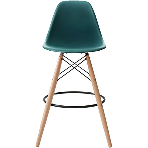 Amazoncom 2xhome Set of Two 2 Teal 25 Seat Height Eames
