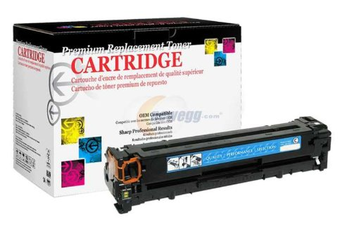 (WPP 200123P Remanufactured Cyan Toner Cartridge for HP 125A, Canon 116)