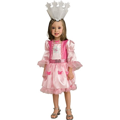 Rubie's Costume Co Woz Toddler Glinda Costume, Small, (Toddler Glinda Costume)