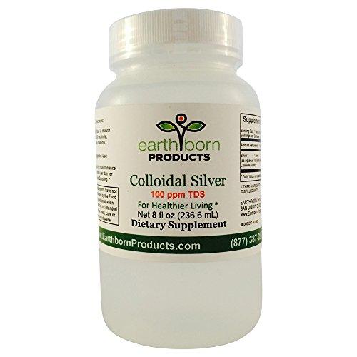 Uniforme produits - colloïdal monoatomique Silver 100 PPM - 8 oz bouteille - immunostimulant, soutien, anti-bactérien, Anti-inflammatoires, Support anti-virus supplément