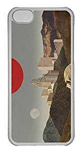 iPhone 5C Case, Personalized Custom Art001 for iPhone 5C PC Clear Case