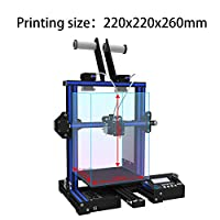 GIANTARM GEEETECH A10M 3D Printer with Mix-Color Printing, Dual extruder Design, Filament Detector and Break-resuming Function, Prusa I3 Quick Assembly DIY kit. from Geeetech