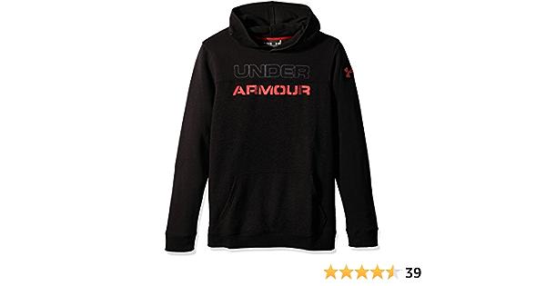 Under Armour Boys Titan Fleece Wordmark Hoodie
