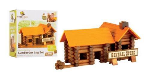Merchsource Llc Merchsource 1647838 Treehaus Lumberjax Wood Log Set, 165 Pieces price tips cheap