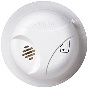 First Alert Battery Powered Smoke Alarm with Mute (SA303CN3)