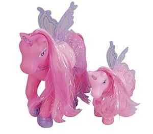 Simba My Sweet Pony 105945234 - Dos unicornios de juguete con alas, modelos surtidos [importado de Alemania]