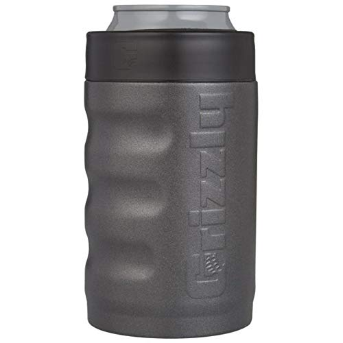 Grizzly Grip Can Cup Charcoal 12 oz. Grey