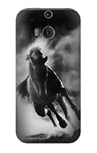 S1860 Running Horse Case Cover For HTC ONE M8