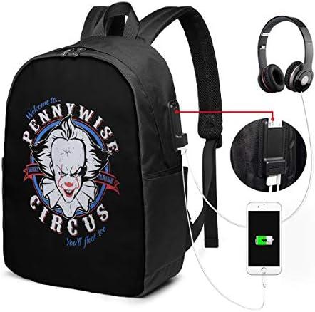 ビジネスリュック ペニーワイズ メンズバックパック 手提げ リュック バックパックリュック 通勤 出張 大容量 イヤホンポート USB充電ポート付き 防水 PC収納 通勤 出張 旅行 通学 男女兼用