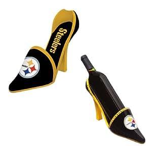 NFL Pittsburgh Steelers High Heel Shoe Bottle Holder