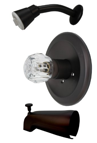 Fit Delta, Peerless Trim Kit, for Washerless Shower Faucets, Oil Rubbed Bronze Finish.