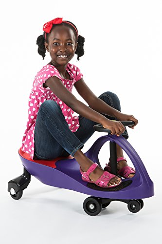 41eJNLAuI3L - The Original PlasmaCar by PlaSmart – Purple – Ride On Toy, Ages 3 yrs and Up, No batteries, gears, or pedals, Twist, Turn, Wiggle for endless fun
