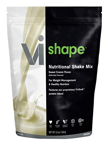 ViSalus Vi Shape Nutritional Shake Mix Sweet Cream Flavor (22 Ounces/24 Servings)...