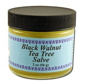 WiseWays Herbals Black Walnut-Tea Tree Salve 1 oz. - 3PC