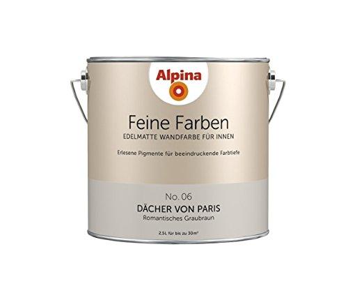 Alpina Feine Farben Dächer von Paris 2,5 LT - 898592: Amazon.de ...