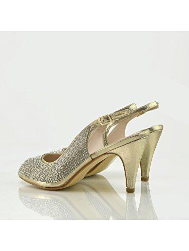Or Mariage De À Womens Talons Hauts Chaussures La À Mode fw7BZxBq
