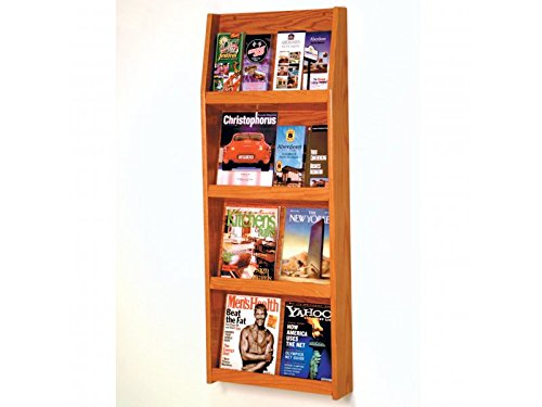 Slope 16 Pocket Literature Display by Wooden Mallet