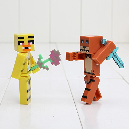 Minecraft Toy Freddy : Minecraft five nights at freddy s pcs set buy online in