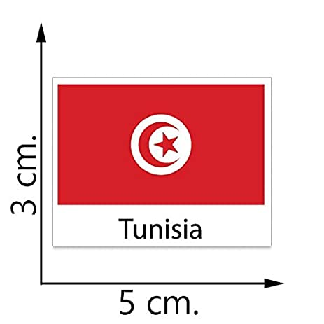 Tunisia flag temporary tattoos sticker body tattoo