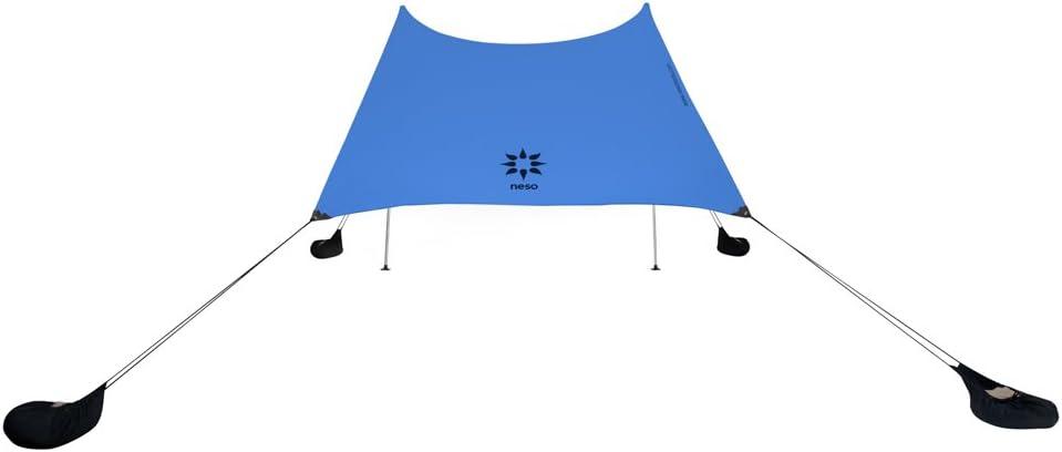Neso Zelte Gigante Strandzelt UPF 50+ Sonnenschutz gr/ö/ßter tragbarer Sonnenschutz verst/ärkte Ecken und K/ühltasche Farbe 2,4 m hoch 3 x 3 m