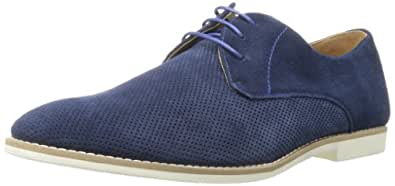 Steve Madden Men's Brewstah Oxford,Navy Suede,7 M US