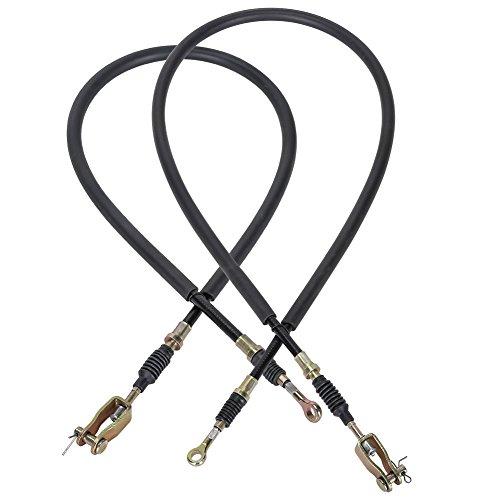 10L0L Brake Cable Set for Yamaha G8,G14,G16,G19 Gas and Electric Golf Carts (Passenger Side & Driver Side) ()