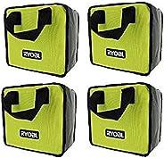 Ryobi Genuine OEM Tool Tote Bag (4 Pack) (Tools Not Included) (Bulk Packaged) (Renewed)