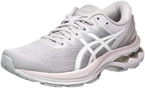 ASICS Women's Gel-Kayano 27 Running Shoe, Haze White, 4.5 UK (37.5 ...