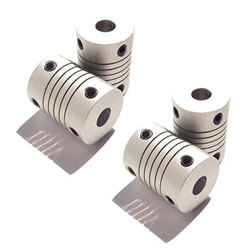Optimus Electric 4pcs Circular Coupling Hub for 4mm Motor Shafts from