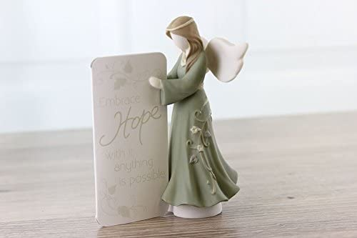 Hope Think Pray Gift Embrace Prayer Angel