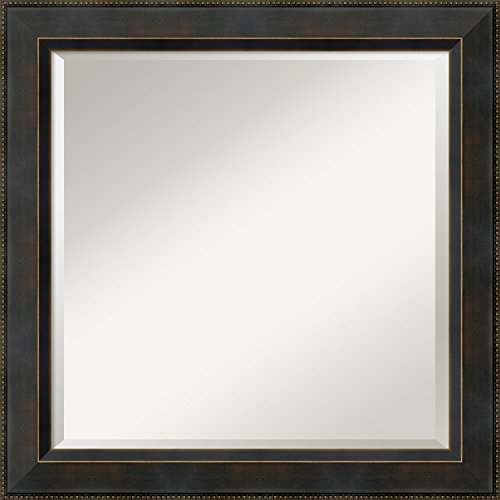Wall Mirror Signore Square Bronze product image