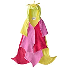 Kidorable Girls 2-6X Lotus Towel, Yellow, Medium