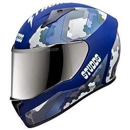 Studds Thunder D5 Matt Blue N1-Blue